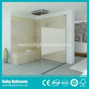 Clean Cut Shower Walking in Door Screen Mounted on Floor (SB102N) pictures & photos