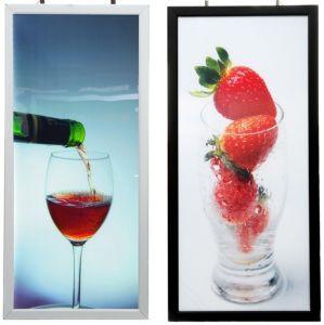 Aluminum Profile DIY Double Sides LED Slim Light Box pictures & photos
