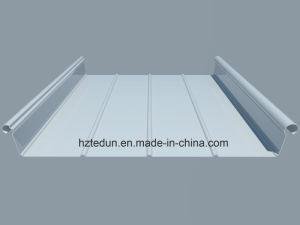 Aluminium Standing Seam Roofing Sheet (trizip400 sky blue5015) pictures & photos