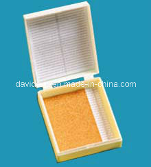 25-Place Microscope Slide Case 25 Slide Storage Box pictures & photos