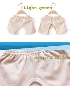 Newborn Organic Cotton Open-Seat Shorts for Baby Necessary in The Summer pictures & photos
