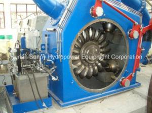Horizontal Pelton Hydro (Water) Turbine-Generator High Voltage 10.5kv/Hydropower Generator/ Hydroturbine pictures & photos