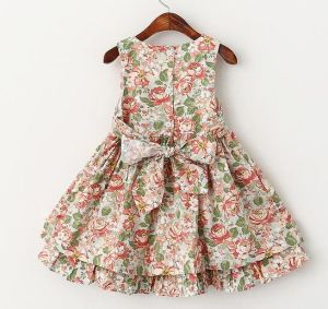 Little Girls Clothing Children Clothes Kids Wear Dresses in Flower Dress Frocks pictures & photos