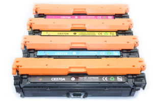 Wholesale Ce270A/Ce271A/Ce272A/Ce273A Original Color Toner Cartridge for HP Printer pictures & photos