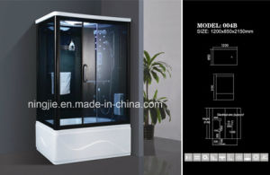 2015 Hot Sales Temper Glass Steam Shower Cabin (004B) pictures & photos