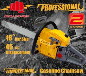 CE Certified Garden Tools 45cc Professional Gasoline Chainsaw (CS-4500)