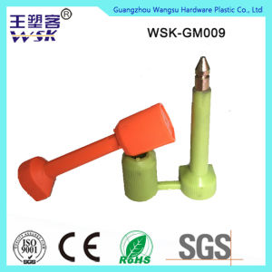 High Quality Plastic Injection Container Bolt Seal