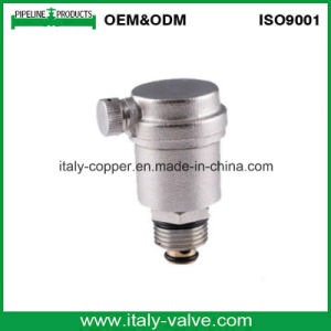 CE Certifired Nickel Plated Brass Air Vent Valve (IC-3039) pictures & photos
