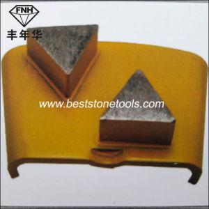 H26 HTC Metal Diamond Grinding Shoe for Concrete Polishing Machine pictures & photos