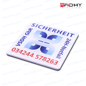13.56MHz Ntag213/Ultralight/RFID Paper NFC Sticker Label pictures & photos