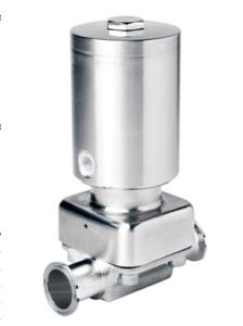 New Arrival! Full Stainless Steel Sanitary Pneumatic Diaphragm Valve pictures & photos