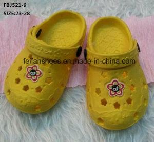 Children EVA Garden Shoes Comfort Slipper Shoes Beach Shoes (FBJ521-9) pictures & photos
