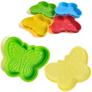 Popular Bakeware Kitchen Tool Silicone Cake Pan Cake Mold pictures & photos
