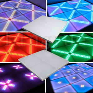 Stage DMX Acrylic Interactive Black and White LED Dance Floor pictures & photos