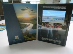 7inch HD Screen Video Brochures pictures & photos