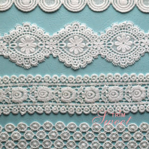 100% Cotton Polyester Embroidery Garment Polyester Trimming Lace pictures & photos