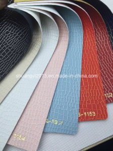 New Design PU Synthetic Leather for Shoes, Bags pictures & photos
