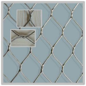 Stainless Steel 304 Rope Fence for Protected Animal pictures & photos