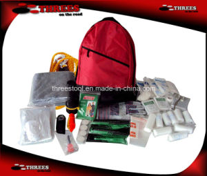 Bakcpack Outdoor Survival Kit (SK16003) pictures & photos