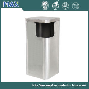 Customized Five Star Hotel Square Trash Bins pictures & photos