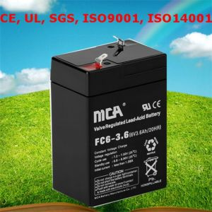 Power up Battery AA Battery Storage Grid Battery Storage 6V pictures & photos