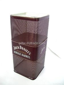 Wine Gift Tin Box Wholesale with Custom Logo pictures & photos