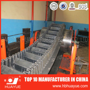 Rubber Sidewall Conveyor Belt for Incline Material Conveying pictures & photos