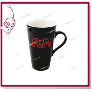 17oz Sublimation Ceramic Heat Sensitive Mug Black Color pictures & photos
