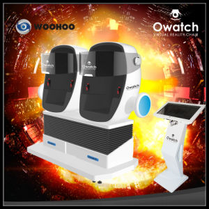 Amusement Park Vr Cinema 2 Seat 9d Cinema Simulator Equipment pictures & photos
