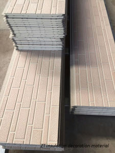 PU Insulated Decoration Sandwich Panel pictures & photos