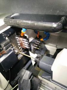 Bx42 Universal High Quality 4 Axis Mini Automatic CNC Turning Lathe for Sales pictures & photos