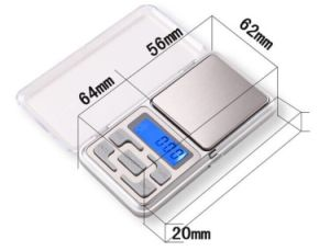 Lower Price 0.1g Pocket Scale pictures & photos