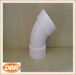 2 Inch Size PVC Fitting 1/8 Bend pictures & photos