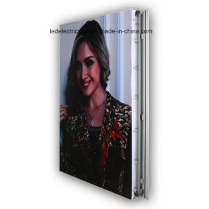 Frameless Fabric LED Light Box with LED Open Sign pictures & photos