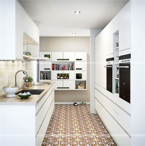 Contemporary Modular White Lacquer Kitchen Cabinet pictures & photos