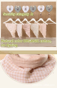 Organic Color Muslin Cloth Baby Trinangle Towel 66*45cm pictures & photos
