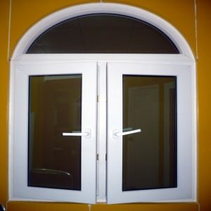 UPVC Window and Door with Double Glazed Glass pictures & photos