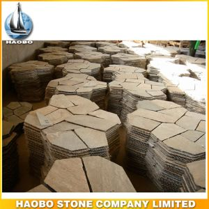 China Natural Crazy Stone for Garden Paving Way pictures & photos