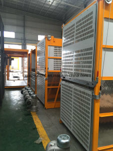 Frequency Inverter Materials and Passengers Construction Building Hoist pictures & photos