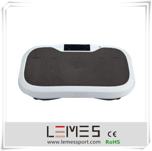 Black Color Ultrathin Slim Vibration Plate with Dual pictures & photos