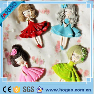 Resin Fridge Magnet Cartoon Girl Home Decoration pictures & photos