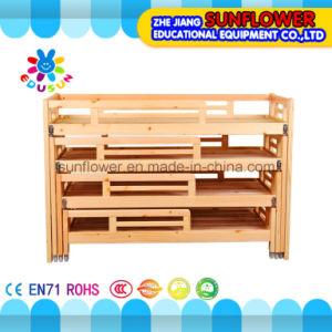 Children Wooden Four Floor Beds for Kindergarten Furniture pictures & photos