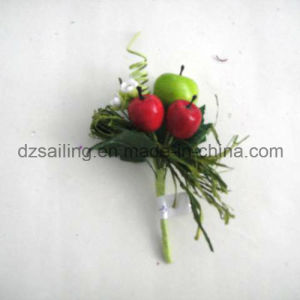 Fruit Pick Artificial Flower for Gift Packing and Corsage (SFH1018-4) pictures & photos