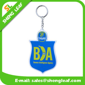 Custom Cheap Rubber Keychain Product for Promotional Gifts (SLF-KC005) pictures & photos