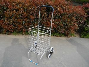 Folded Shopping Cart pictures & photos