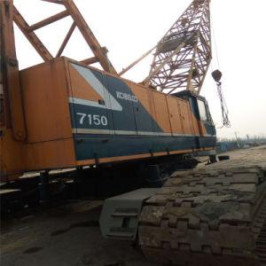 Used Kobelco Kobelco 7150 (150T) Crawler Crane From Shanghai