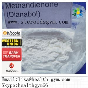 Supply Raw Anabolic Steroid CAS: 72-63-9 Dianabol Methandienone