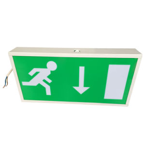 Maintained LED Exit Sign, Safety Signs and Symbols LED Rechargeable pictures & photos