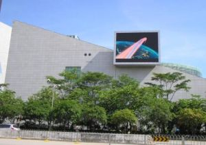 High Brightness P10 Video Screen for Outdoor Advertising