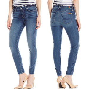 Women Hot Fashion Plus Size Brand Skinny Deinm Jeans